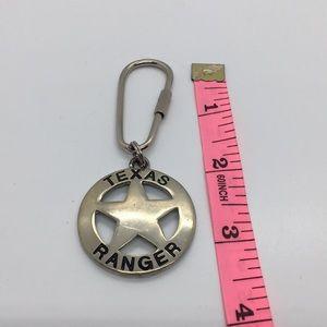 Texas ranger key chain
